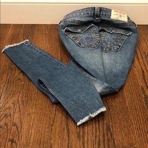 True Religion Curvy Skinny Jean
